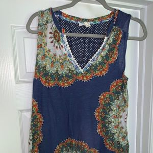 Adorable Meadow Rue tank size small